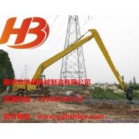 厦工821挖掘机加长臂、两段式16米河道清淤加长臂