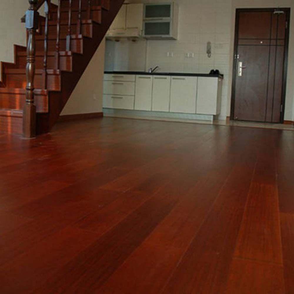 红檀香实木复合地板,香脂木豆地板