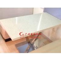 深圳餐厅餐桌椅,不锈钢脚大理石台[不变形,易清洁]