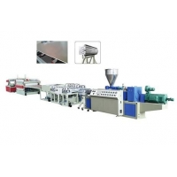 pvc结皮发泡板设备/木塑结皮发泡板生产线价格