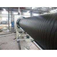 PE塑钢双平壁缠绕管设备 pe双平壁塑钢缠绕管生产线