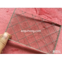 供应安全方形夹丝防爆玻璃