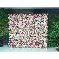 仿真植物墙摄影背景墙婚礼绢花墙发布会派对聚会墙面装饰玫瑰花墙