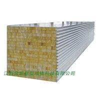 玻镁岩棉彩钢板,玻镁泡沫金属板