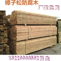 樟子松防腐木碳化木木方可定制户外木花箱