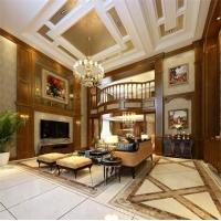 汉宁全屋定制纯原木定制中式、美式、欧式吊顶
