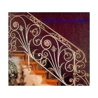 天津铁艺楼梯、天津定做铁艺楼梯、天津安装铁艺楼梯