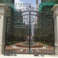 南京欧式铁艺大门