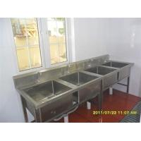 厦门不锈钢双星水槽,单星水槽,带板残渣台,四层菜架等定制安装