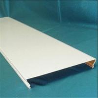 C型铝条扣平面板 室内吊顶防潮装饰材料