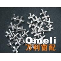 供应广州市阳台防护网安装,隐形防护网专用十字扣大量批发生产.