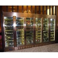 后现代不锈钢酒柜 贴皮玻璃酒柜不锈钢家具门厅隔断装饰柜