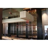 不锈钢酒柜 酒店 西餐厅量身订做 大容量酒柜