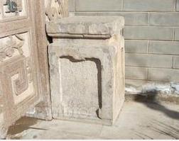 供应广场石门柱石