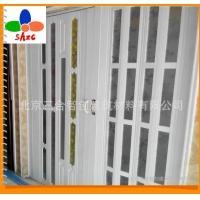 北京三合智创多款有机玻璃PVC折叠门、pvc折叠隔断量大从优