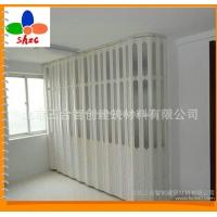 环保无毒PVC折叠推拉门 pvc塑料厨房折叠门