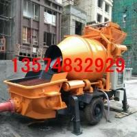 搅拌机输送泵 型搅拌泵送一体机