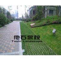 混凝土植草地坪,现浇植草地坪,生态地坪