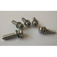 圆头带垫二组合 三组合螺丝钉 六角头组合螺钉生产商