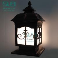 园林柱头灯森隆堡灯饰专注打造户外灯具品牌