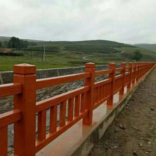 仿木栏杆、仿古栏杆、河道园艺护栏生产批发