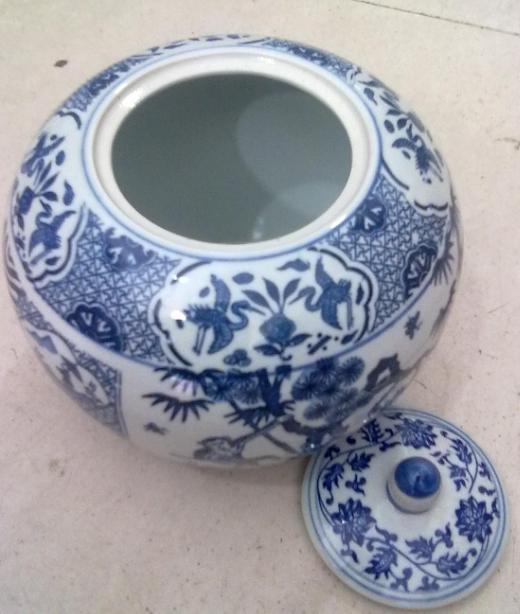 陶瓷糖果罐子图片2斤陶瓷泡菜坛瓷瓶