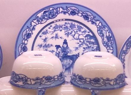 骨瓷餐具图片制作陶瓷碗碟子盘子