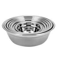 小汤盆不锈钢盆碗14-28cm