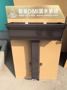 K型金属排水槽建材市场