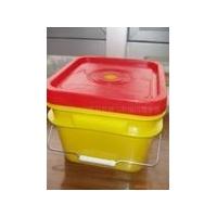 截齿方桶,链条桶,塑料方桶,美式桶