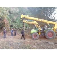 焦作硬土质挖坑机大海机械专利产品