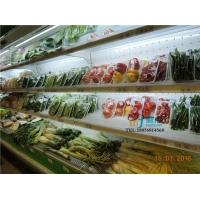 超市风幕柜定做,开放式蔬菜熟食立风柜,立式果蔬保鲜柜