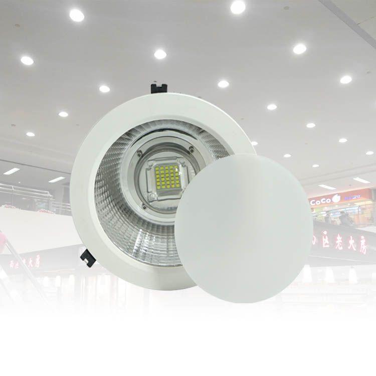 圆孔100瓦筒灯深圳LED桶灯工厂