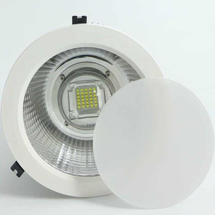大功率120W筒灯自带电源10寸开孔250MM