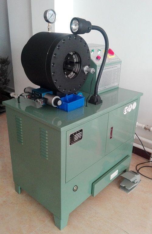 高压胶管扣压机 液压管锁管机