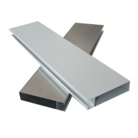 广东绿景供应优质木纹铝方通铝型材圆管方通厂家直销