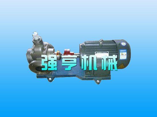 福建强亨YCB不锈钢圆弧齿轮泵寿命长效率高