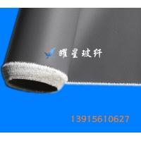 银灰硅胶布 硅钛合金布 挡烟垂壁用硅胶布 银灰硅钛布