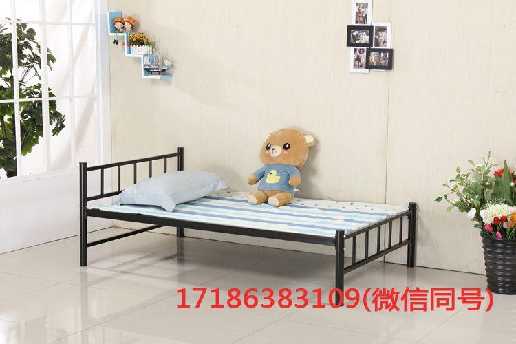 苏州市供应学生床单层床员工宿舍铁床 双人床