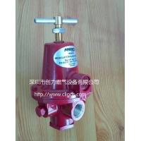 力高氮气管道调压器 1588VN气体管道减压阀