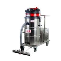 芝麻加工厂吸尘器清理地面芝麻威德尔80L推吸电瓶吸尘器
