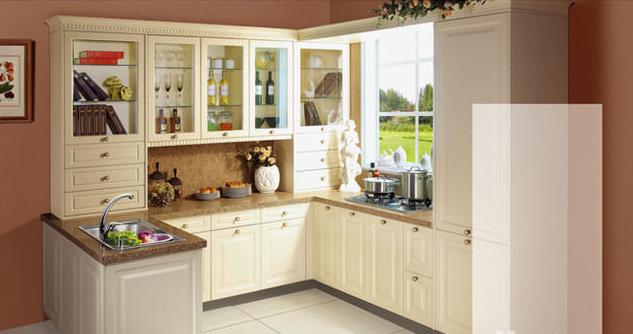 大连实木整体橱柜,橱柜台面,厨房设计,橱柜材质设计