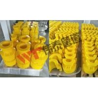 弯曲限制器 J型管中心夹具 聚氨酯弯曲限制器