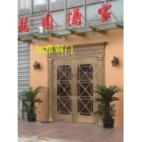 黑龙江哈尔滨铜门|全封闭铜门 |别墅铜门价格