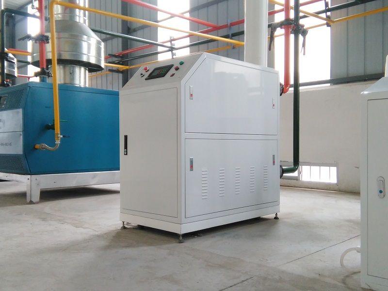 燃气锅炉冷凝低氮表面微焰燃烧排放技术