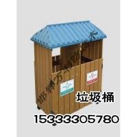 邯郸防腐木垃圾桶|防腐木垃圾桶定制