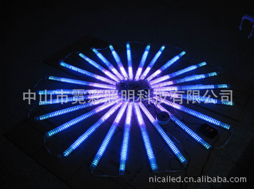 LED单色常亮护栏管/六段外控数码管