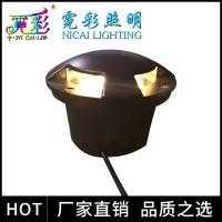 LED四透光地埋灯墙角灯1/3W