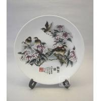 供应景德镇窑盛陶瓷彩瓷挂盘,工艺礼品瓷,装饰瓷