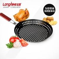 户外野炊可折叠手柄烤鸡盘烧烤盘烧烤工具